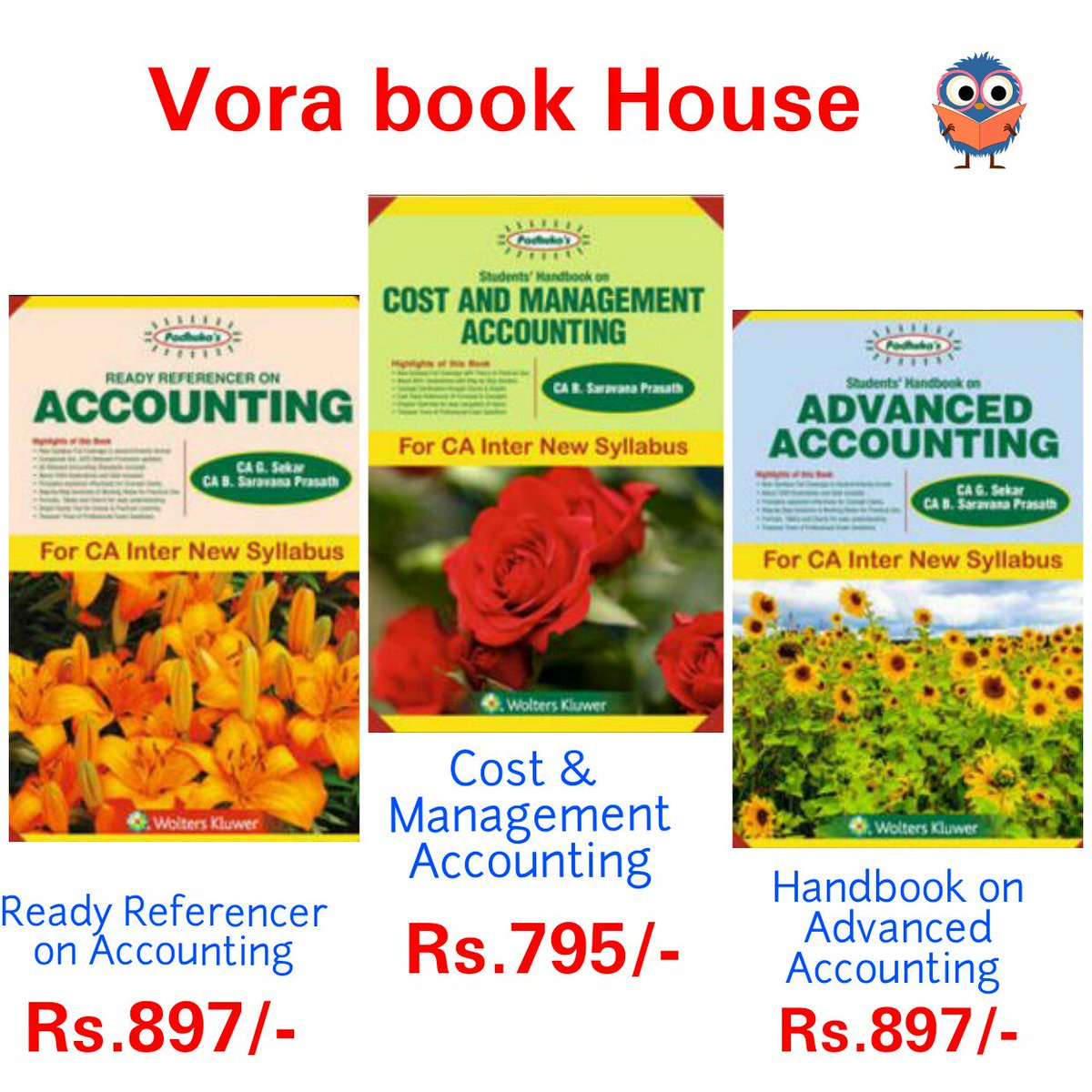 New Books for ca/cs/cma students  http://Www. vorabook.com  &nbsp;    #vorabookhouse  #law #ca #exam#final #cs #cma #acconting #standards #management<br>http://pic.twitter.com/e6Y5RLDiaJ