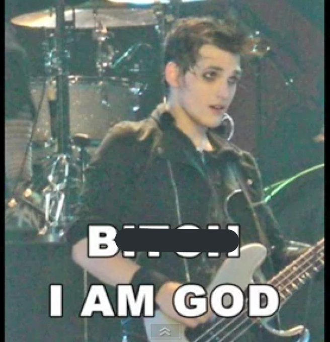 Apparently it was Mikey Way\s birthday yesterday?! Happy belated birthday dude
