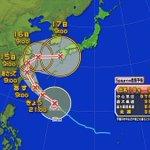 台風18号「やっぱ日本寄っておくか」 pic.twitter.com/pclUtsowdQ
