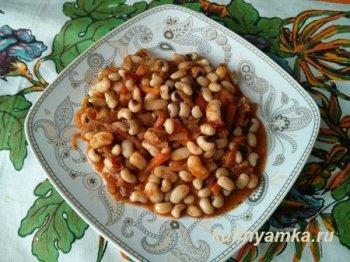 Рецепты фасоль вареная