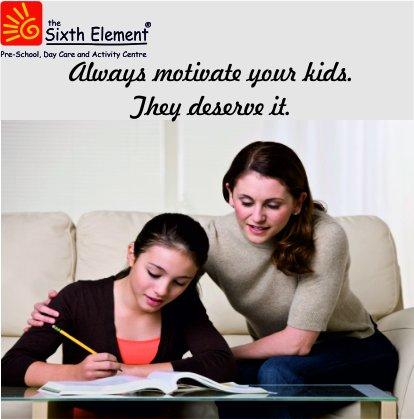 Parents to motivate