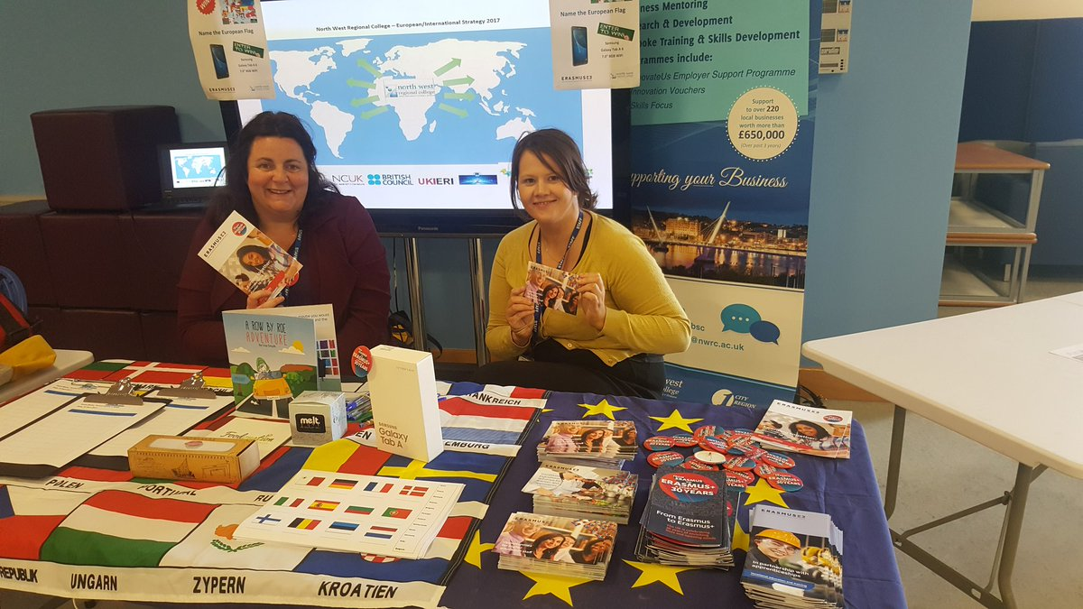 All ready #FreshersWeek Day2 @mynwrc @erasmusplusUK come visit us to find out about #epluspeople #mobilities  #gotravelseu #Adapt<br>http://pic.twitter.com/DqWAKgwMaF