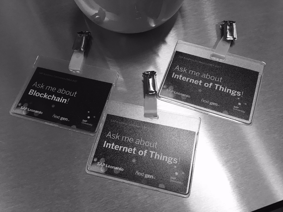 We are ready for day #2 @SAPNextGen of the 22nd Academic Conference @KITKarlsruhe ! Join the conversation about @SAPLeonardo  at #uaac17  <br>http://pic.twitter.com/Ld4RLPOY0r