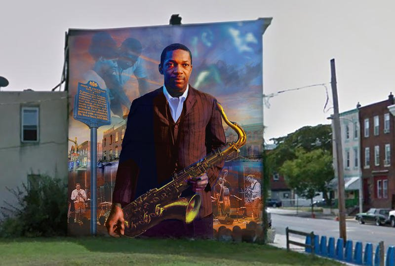 A New Mural Pays Tribute to John Coltrane in Philadelphia https://t.co/Fp5R0jVkow