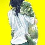 抱きワニ #ibispaint pic.twitter.com/BvSw9KAizf