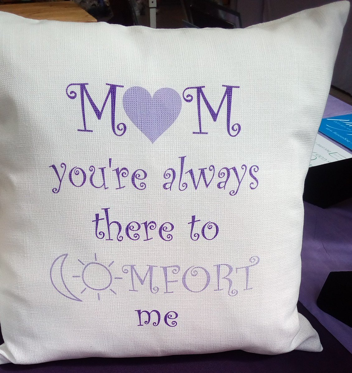 For comfort cushion