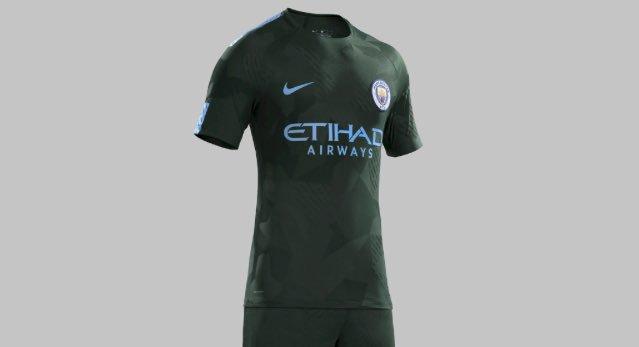 tercera camiseta manchester city