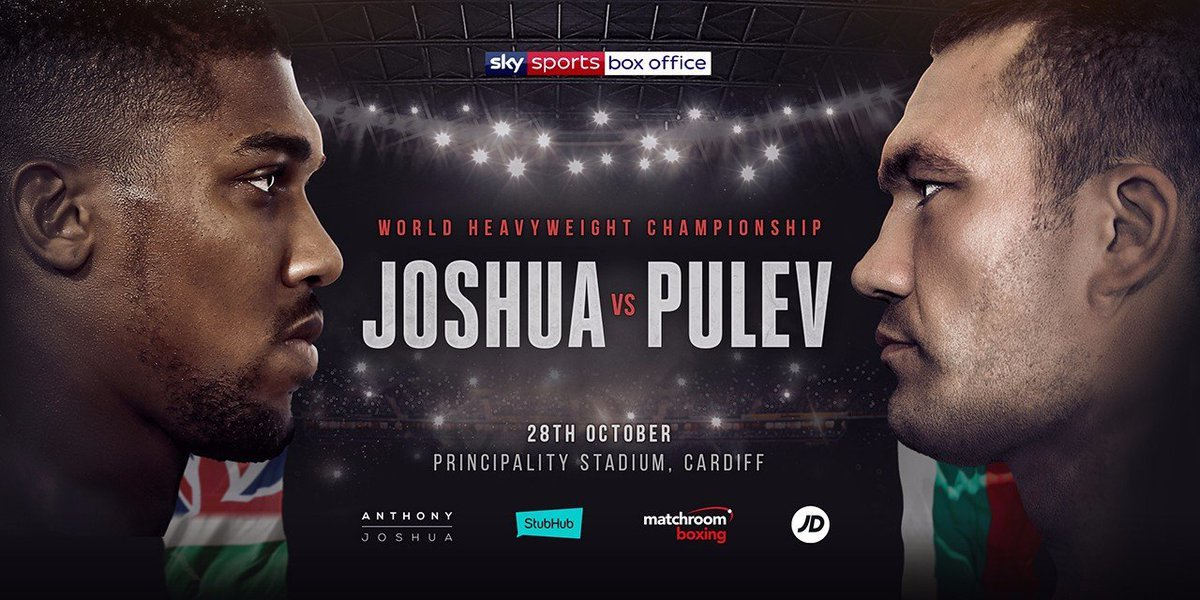 Demand for Anthony Joshua vs Kubrat Pulev tickets has been through the roof and there are now just a handful left for the fight at Cardiff's Principality Stadium next month.