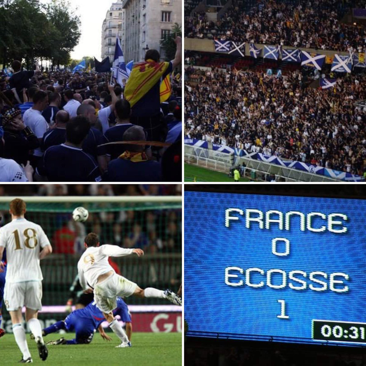 The Tartan Army On Twitter Years Ago Today France Scotland In The Parc Des Prince France Scotland Ecosse TartanArmy