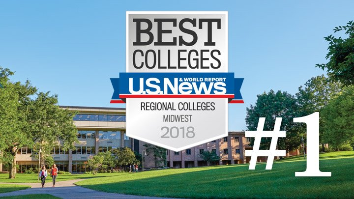 U.S. News & World Report ranks Calvin College #1 in the Midwest https://t.co/DlY1nQj7iC https://t.co/iQMm4iZgw2