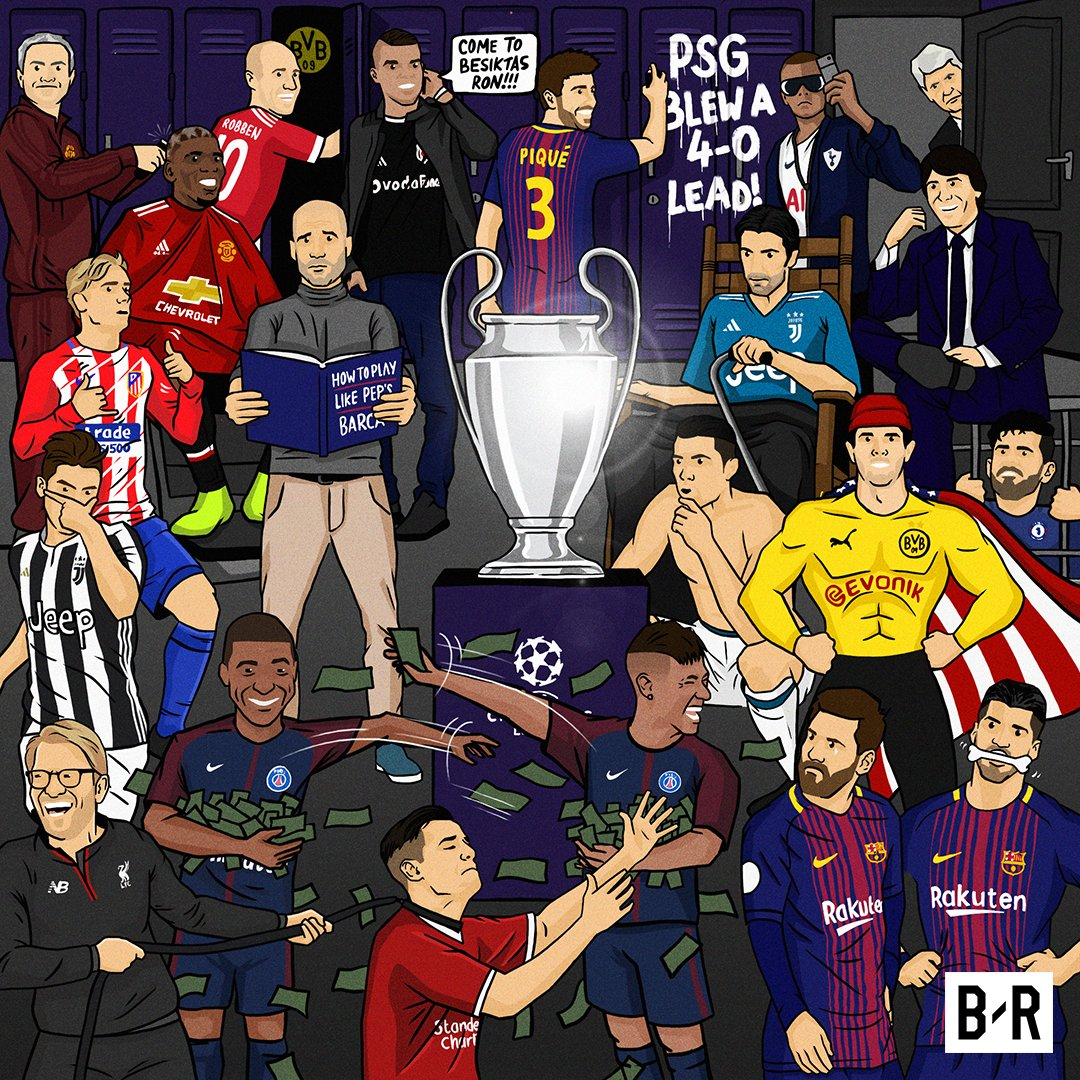 The Champions League is back! 🏆