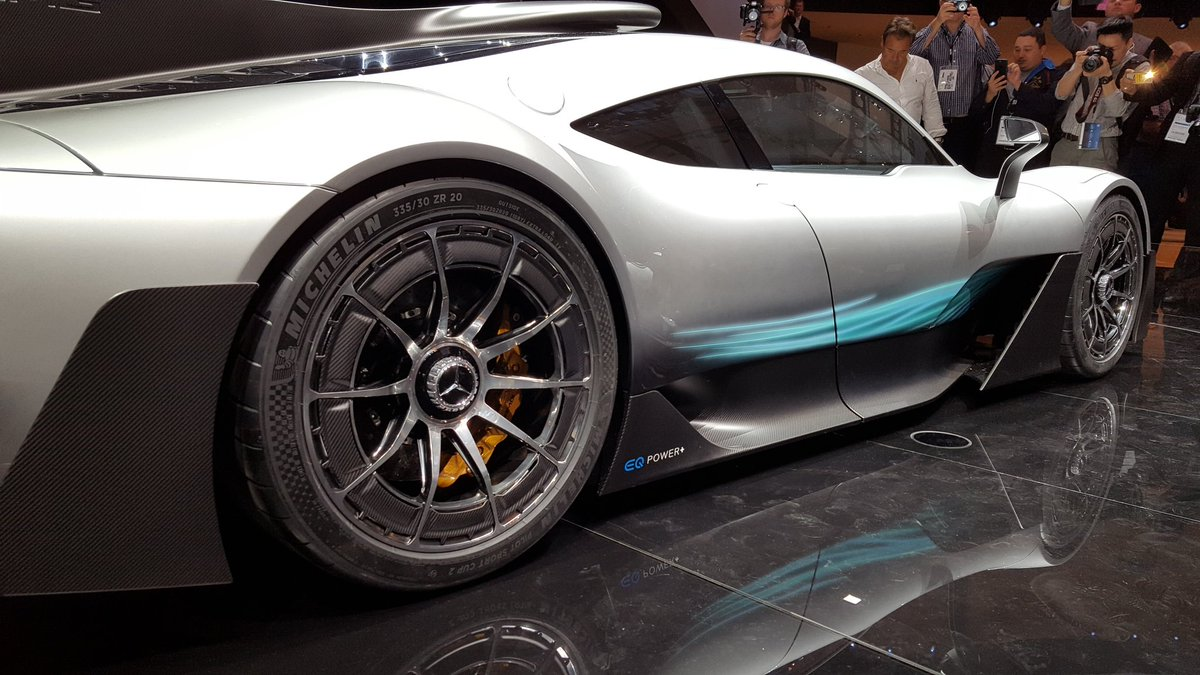 michelin on twitter mercedes amg project one fitted. Black Bedroom Furniture Sets. Home Design Ideas