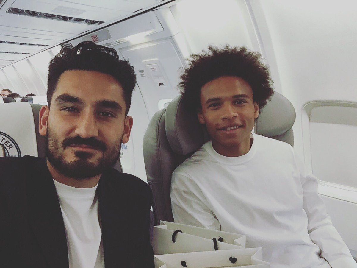 "Ilkay Gündogan on Twitter ""Taking off Ready for Rotterdam"