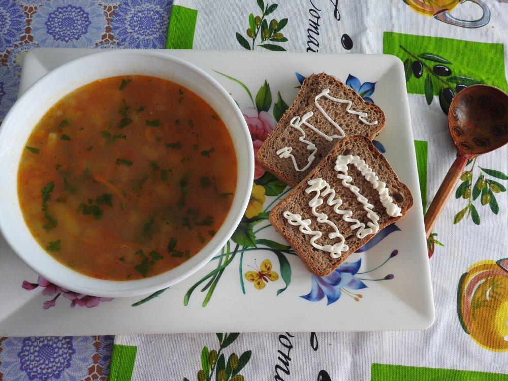 Рисовый суп с тефтелями пошаговый рецепт с фото