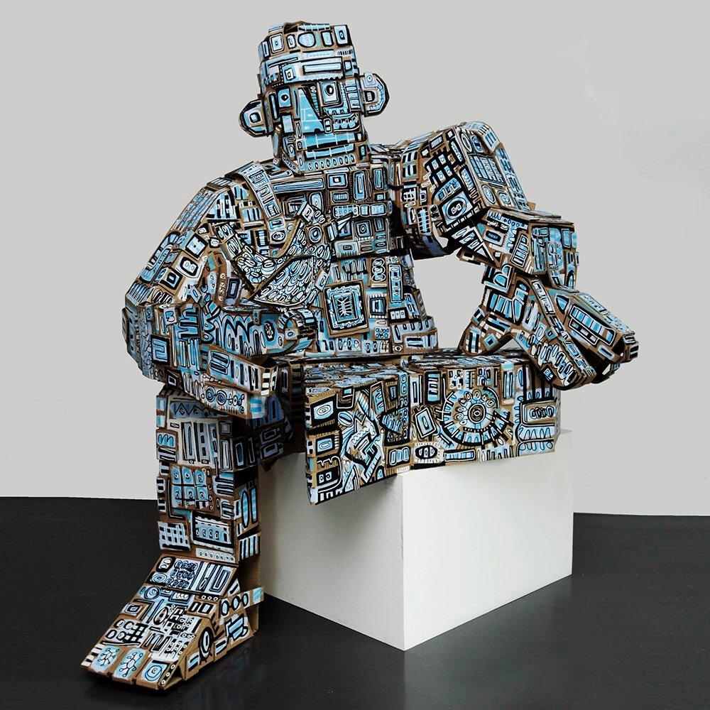 Looking robots