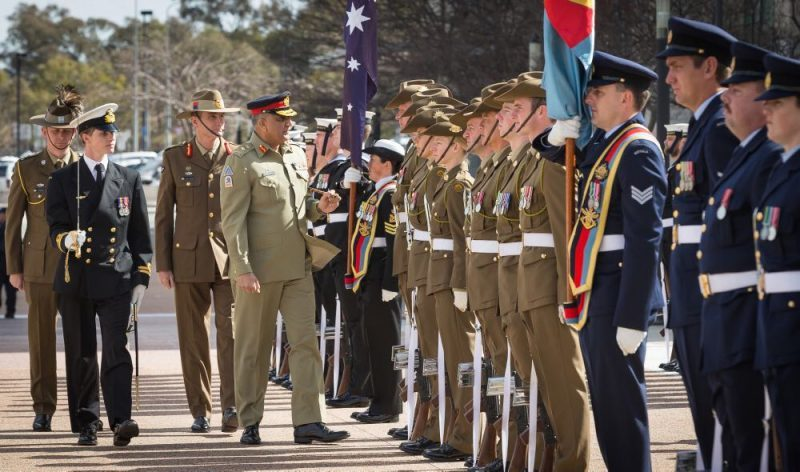 Australian military recruits forced