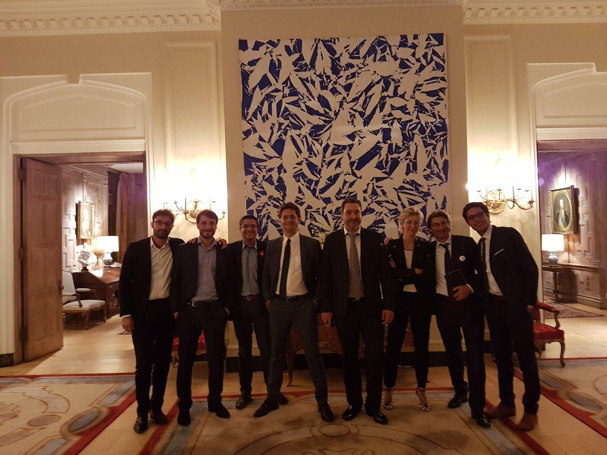 Nicolas Dufourcq On Twitter La Frenchtech En Force Au Diner De National Venture Capital Association Aux EU France Is Back With Amazing Figures