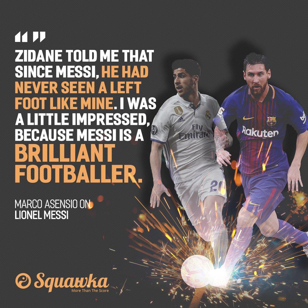 Zinedine Zidane is clearly a massive fan of Marco Asensio's left foot…...