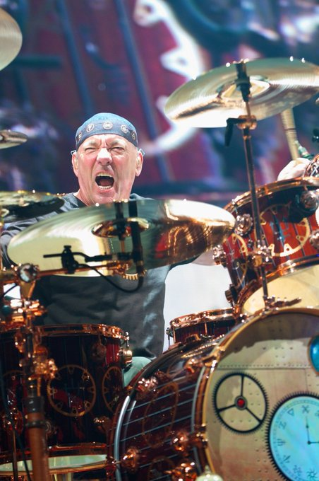 Happy 65th birthday to the greatest drummer on this planet, Neil Peart.