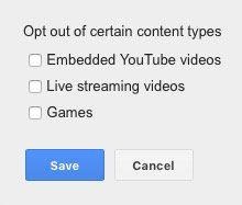 So this is interesting. Advertisers on YouTube can specifically select to not show their ads on gaming content. https://t.co/8xYwjn9FYp