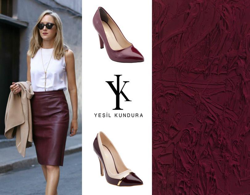 Haftanın göz alıcı rengi Bordo ile kendini göster!  #yesilkundura #shoes #shoesoftheday #shoeslover #loveshoes #bordeaux #weekday https://t.co/8qIgbenEva