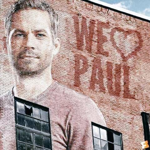 Wish you Happy Birthday Paul Walker missing you all ur fans