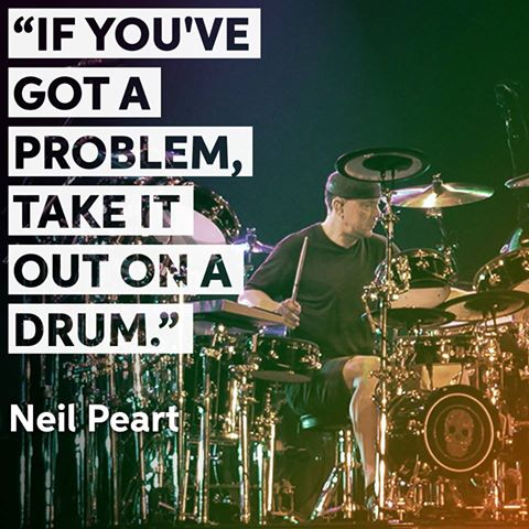 Happy 65th birthday to the one and only Neil Peart!