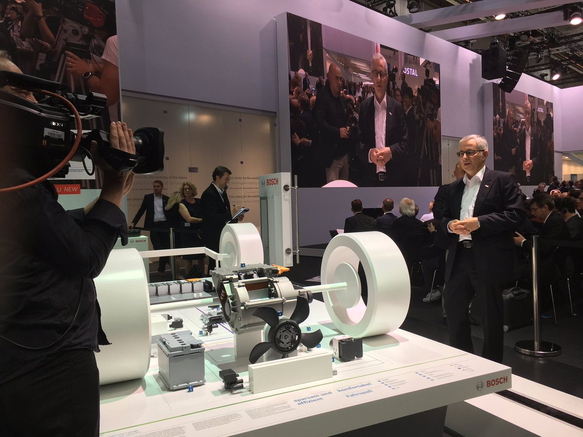 The Start Up Powertrain For Electric Cars The Bosch E Axle