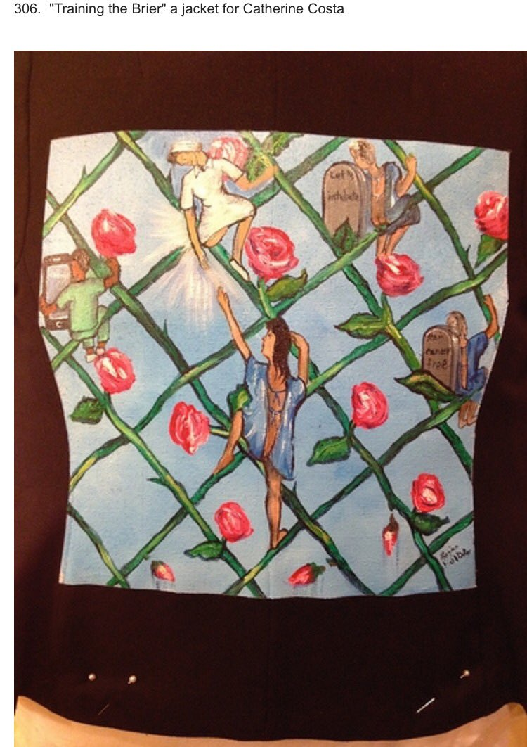 jacket 306 of 480 in #thewalkingGallery #PatientsIncluded Help us tell more stories. Donate: https://t.co/Ub2sl8zGWN