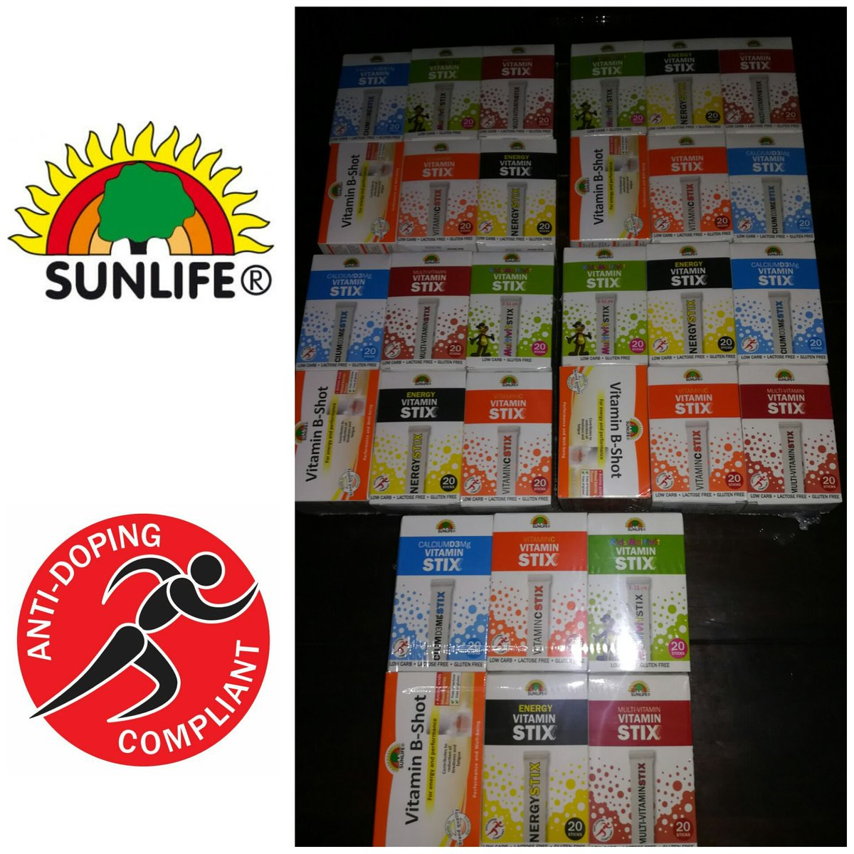 Sunlife Vitamins Jeremy Brockie Bernard Parker And 6 Others