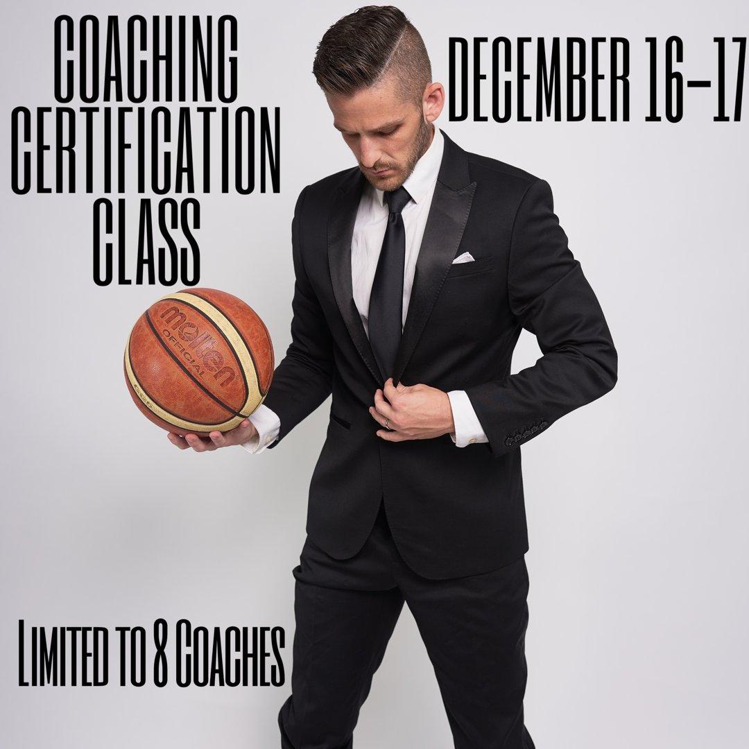 Ryan Goodson On Twitter My Inaugural Coaching Certification Class