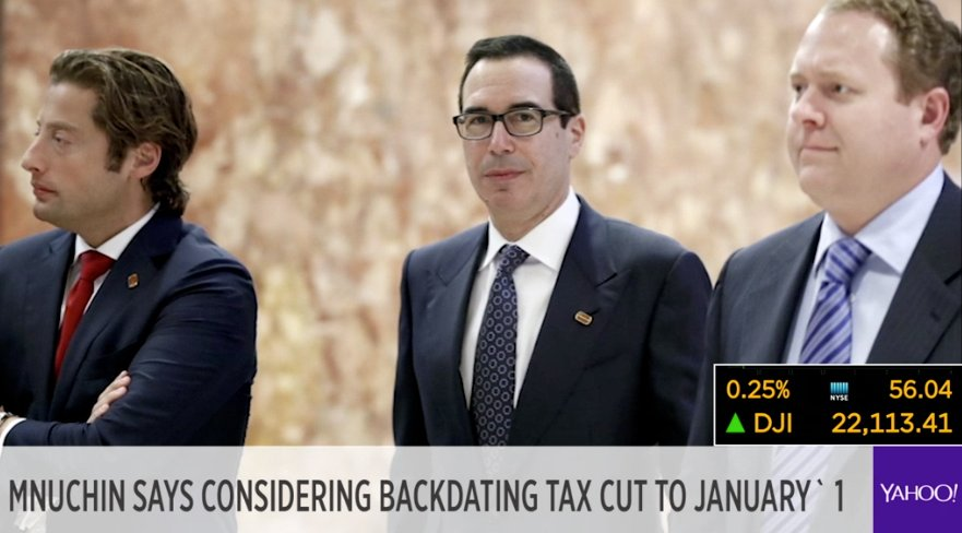 Backdating tax returns