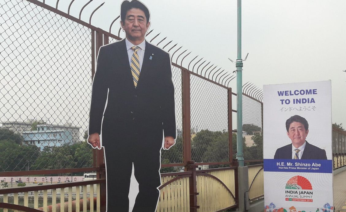 Abe-Modi to arrive today, rehearsal of joint road-show, city decked up to welcome close-ally