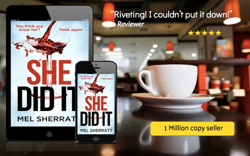 #Whatdidshedo ? SHE DID IT - pre publication price only 99p. One week to go! https://t.co/JnodJZkR3A https://t.co/Jk6s4dCfl6