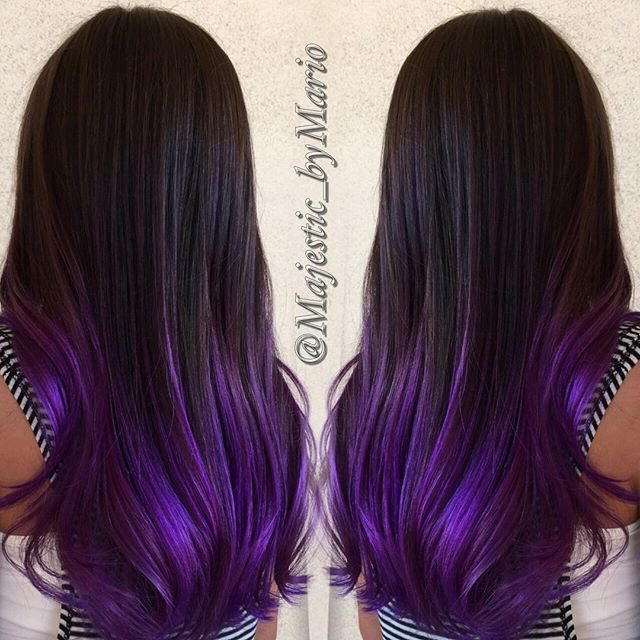 63 Purple Hair Color Ideas To Swoon Over Violet Purple Hair Dye Tips: 20+ New For Violet Hair Dye Tips