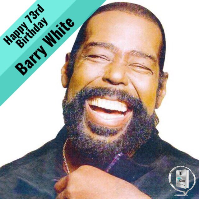 Happy Birthday Barry White...