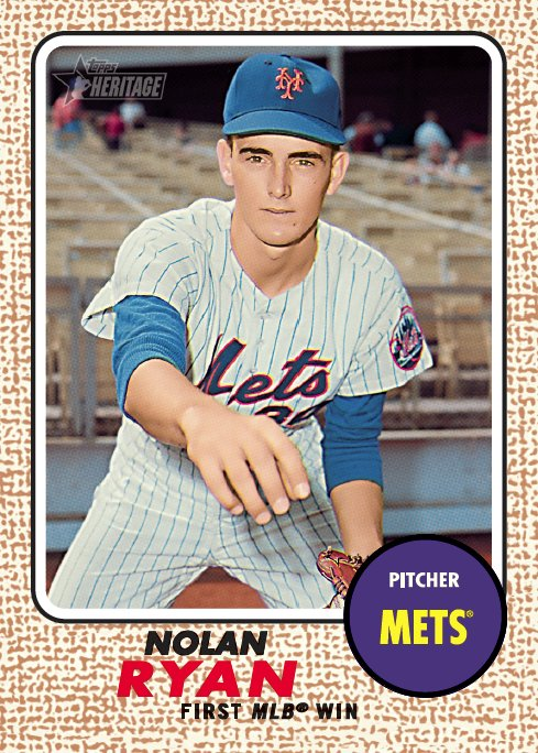 Topps On Twitter 1968 Topps Featured Nolan Ryans Rookie