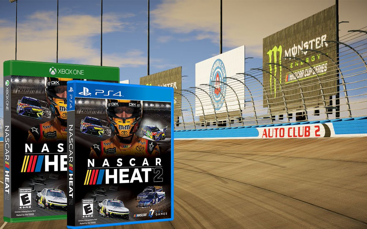 Stoked for the new #NASCARHeat2! RT for the chance to win a free game! #VideoGamesDay https://t.co/NZMUSsyrsl