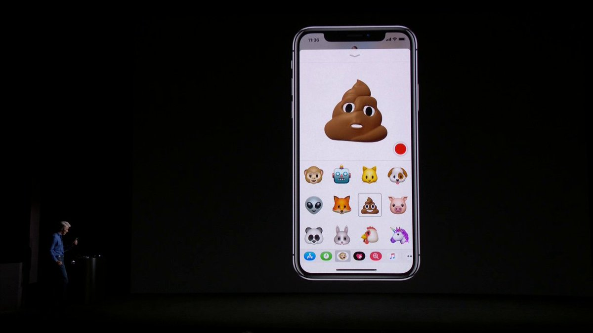 1967: There will be flying cars in 2017  2017: Poop emoji can now talk to you. #AppleEvent https://t.co/chzpmQOmgr