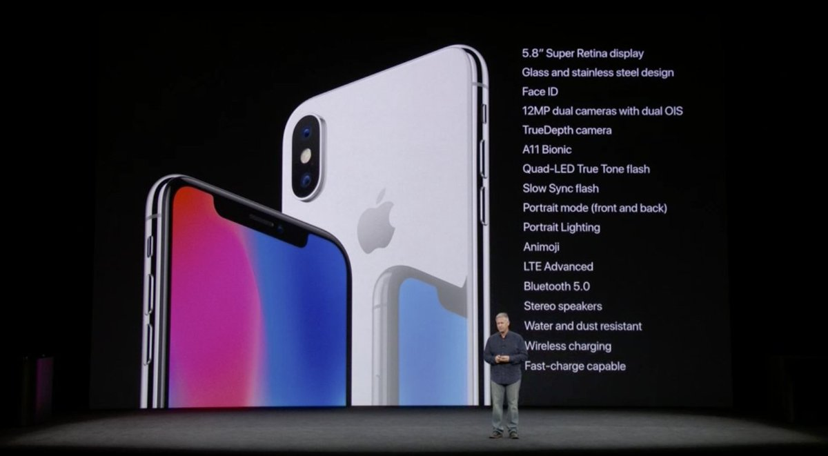 visual Specs iPhone X