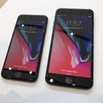 iPhone 8、両面ガラスはかなり印象変わります pic.twitter.com/SWigl0fg…