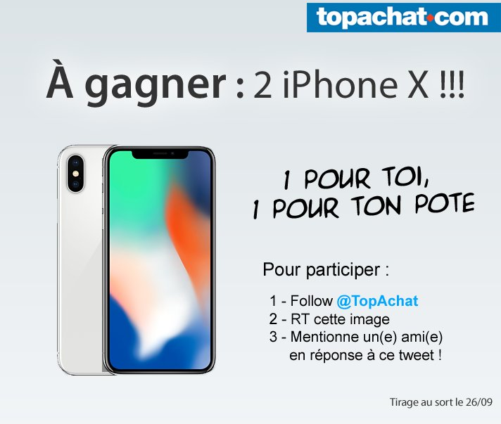 Concour Gagner Un Iphone