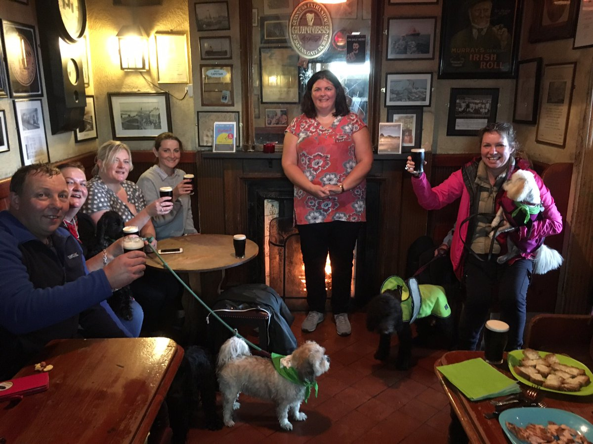 What a great #dogfriendlytour we had on Saturday! #fun and laughter despite the rain! #DogHourNI