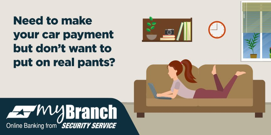 Ssfcu Login In >> Security Service Fcu On Twitter Car Payment Due Don T