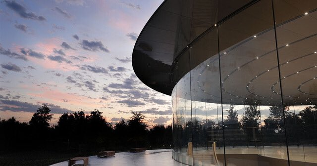It's a big day at Apple! We are honored and thrilled to host our first keynote at the Steve Jobs Theater this morning.