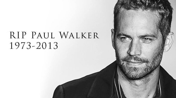 Happy Birthday Paul Walker!!! I Miss You and Love you. Watching all my Fast and Furious movies in honor of you.