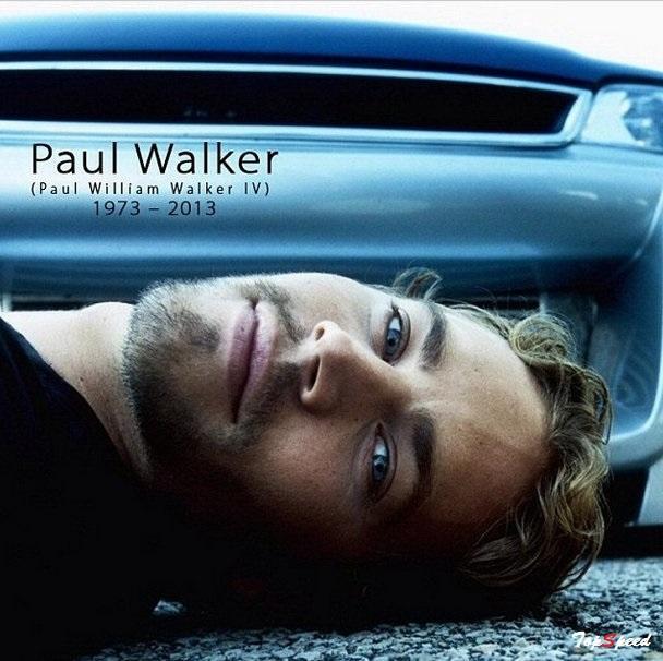 Happy bday Paul Walker RIP