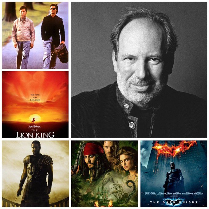 Happy 60th birthday to German composer Hans Zimmer! Which of his film scores is your favourite?