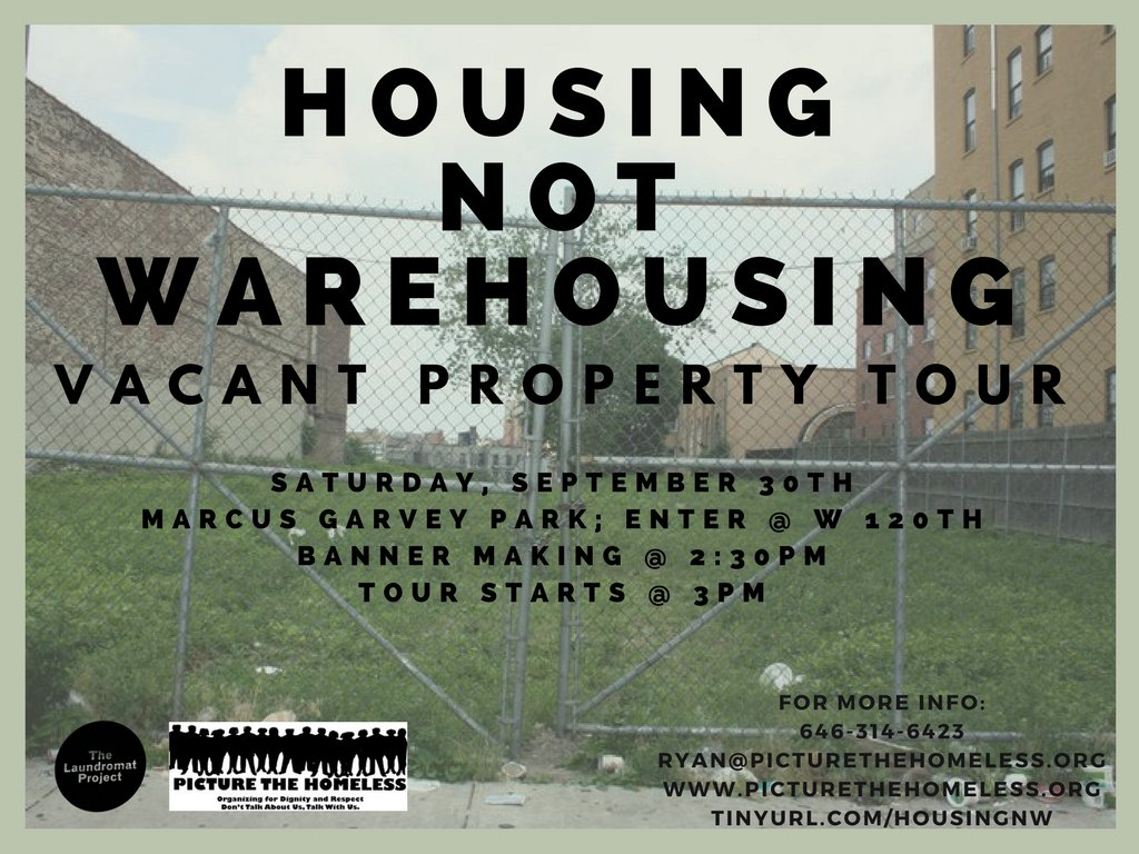 ACANT PROPERTY WALKING TOUR
