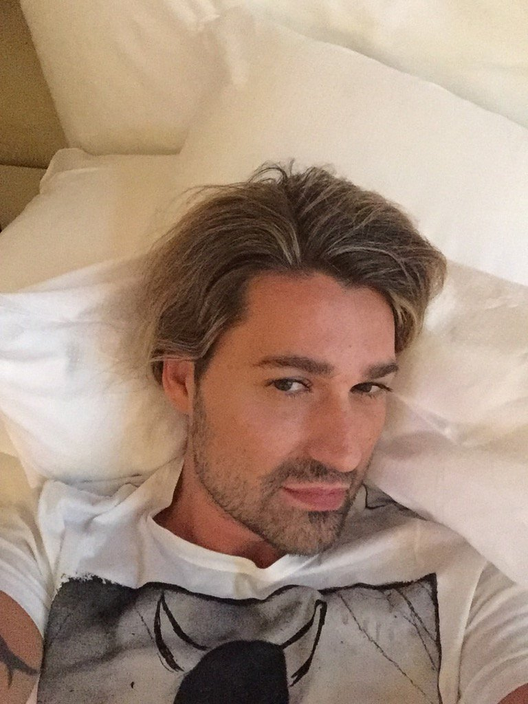David Garrett On Twitter Relaxing After Rehearsal In Milano